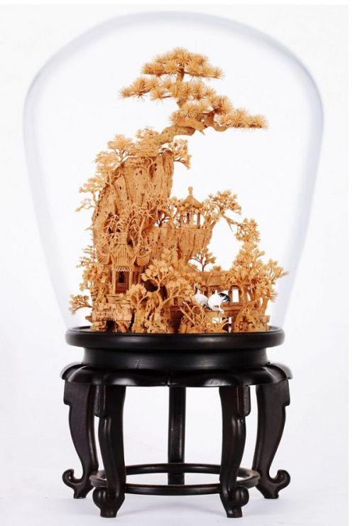福州软木雕