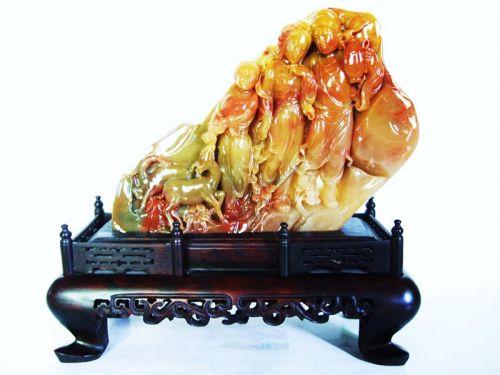 寿山石雕刻精品