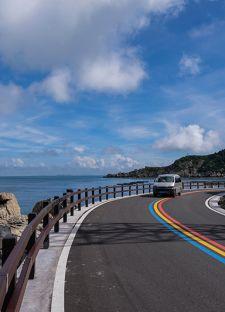 """浙江平阳:""""碧海仙山""""南麂列岛环岛""""彩虹公路"""""""