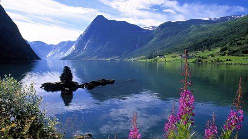 美丽的莱蒙湖