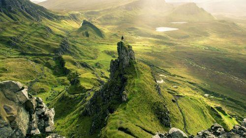 苏格兰高地自然美景