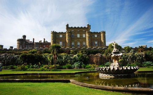 苏格兰卡尔津城堡