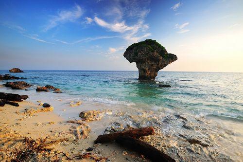 台湾小琉球岛风光