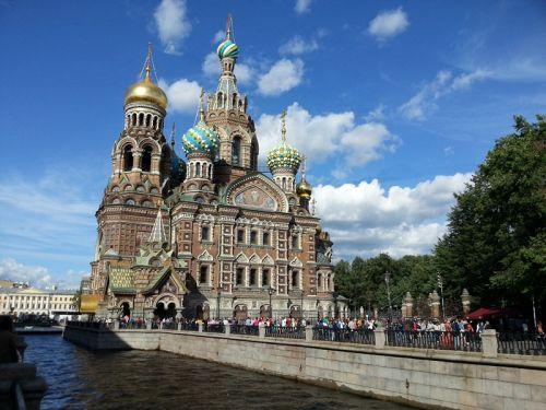 圣彼得堡滴血大教堂