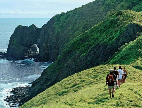 哥斯达黎加徒步探险者