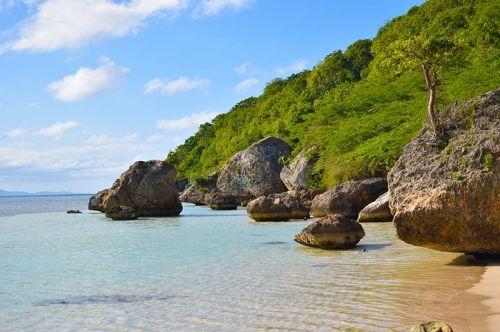 科科斯岛海滨