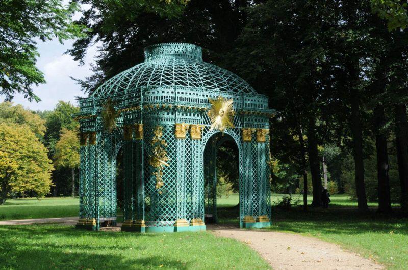 德国波茨坦世界文化遗产--无忧宫及后花园