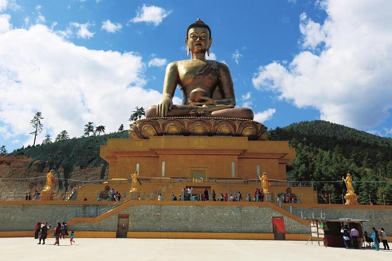 不丹最大佛像