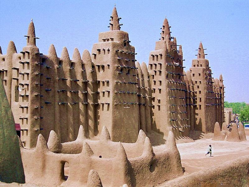 马里杰内黏土清真寺