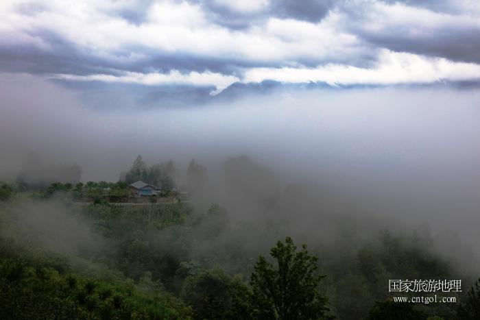 图16:常常全域四季云雾缭绕成为云海奇观   唐探峰摄