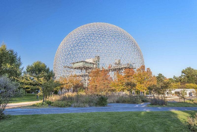 蒙特利尔地标建筑--水晶球