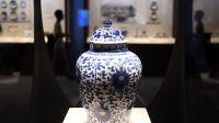 """""""浮槎万里——中国古代陶瓷海上贸易展""""在北京中国国家博物馆开幕"""