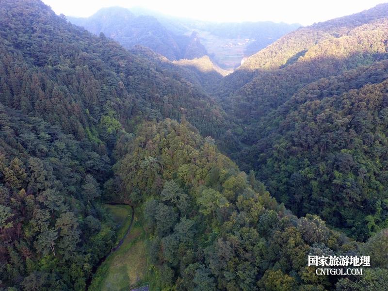 2020年9月9日,拍摄的贵州省黔东南苗族侗族自治州从江县庆云镇丹阳景区景色。(龙梦前摄)