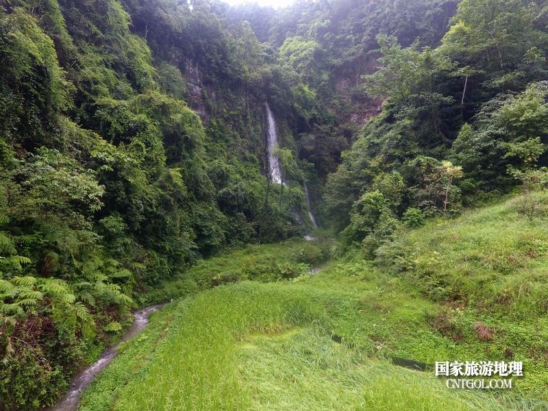 2020年9月10日,拍摄的贵州省黔东南苗族侗族自治州从江县庆云镇丹阳景区景色。2(龙梦前摄)
