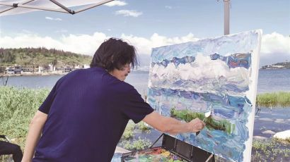 苍洱美景跃纸上 诗意乡愁入画来——中国美术名家到大理采风创作活动掠影