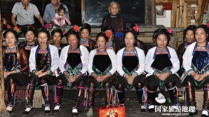 贵州黔东南从江:增冲侗寨民俗活动欢庆新米节