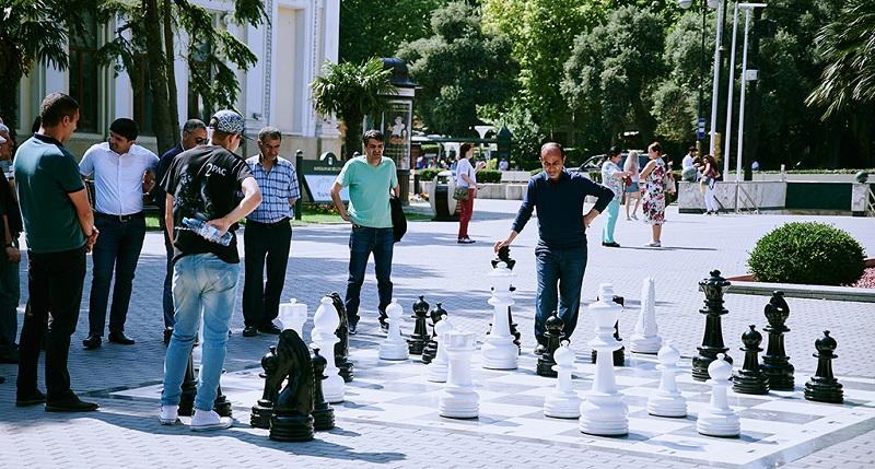 街头国际象棋