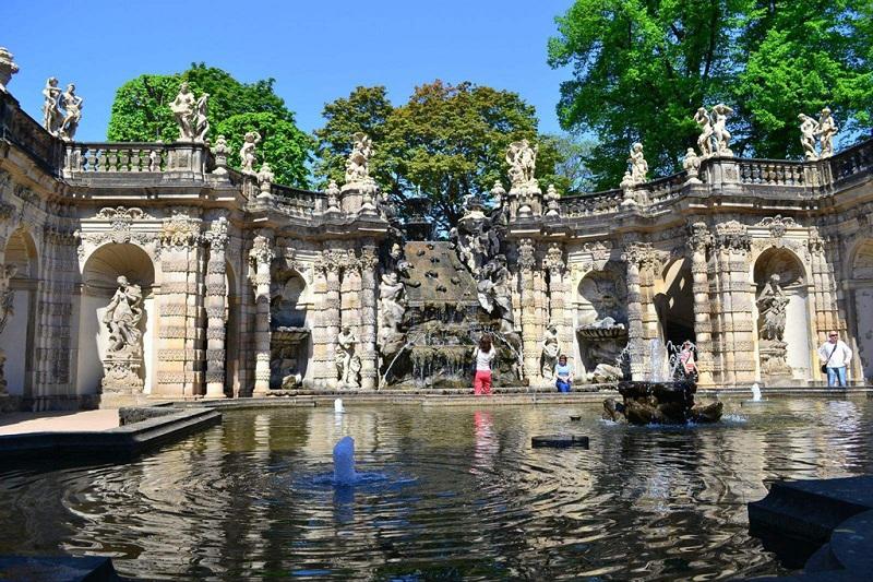 茨温格王宫景色