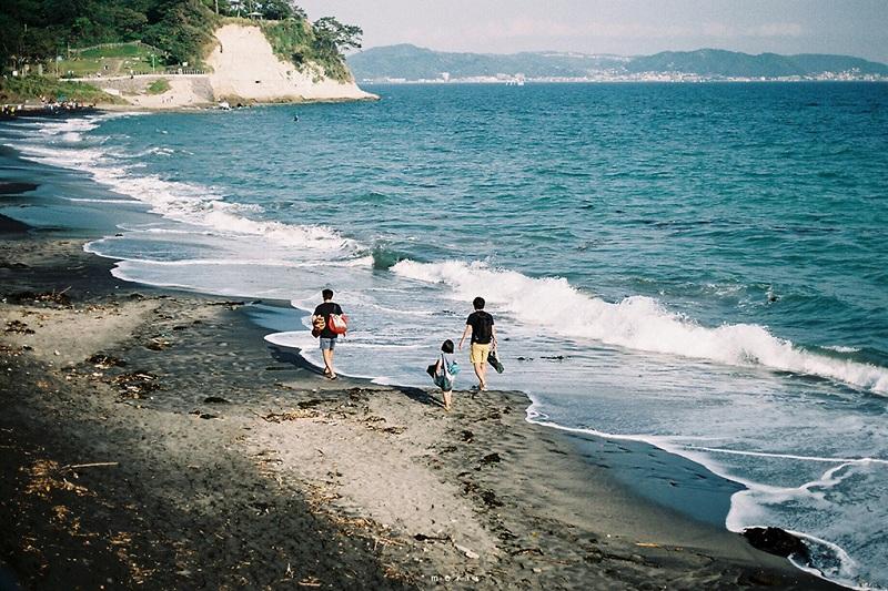 日本镰仓海滨美景