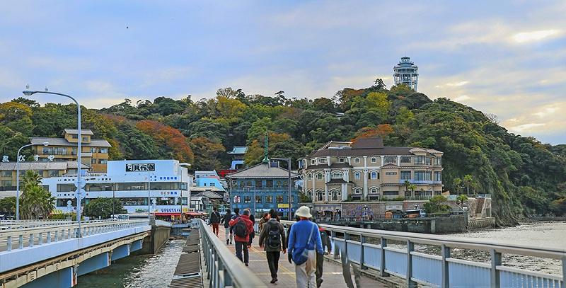 日本镰仓江之岛