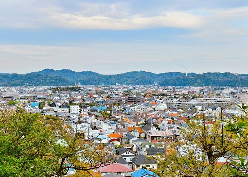 日本镰仓全景