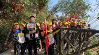 江西灵山景区迎来首批400余人研学旅行团队(图)