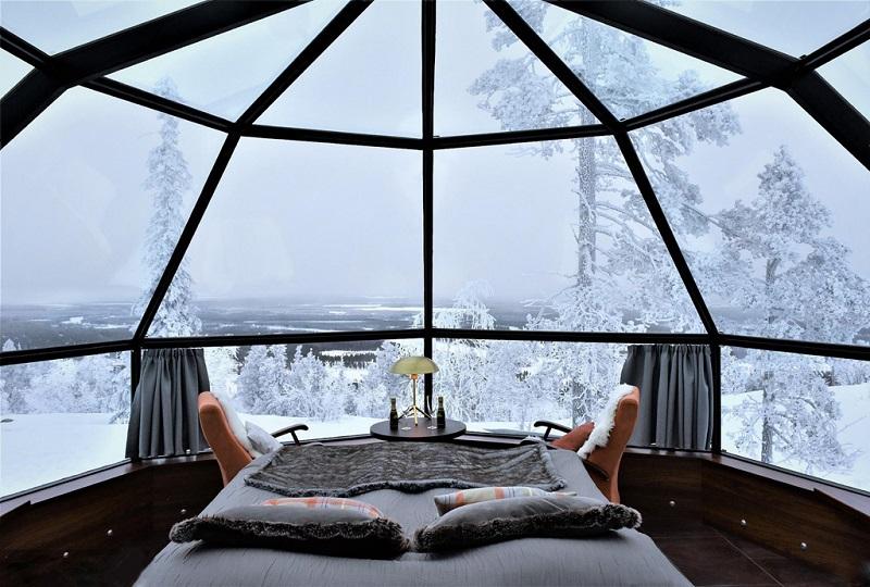 芬兰冰屋旅馆