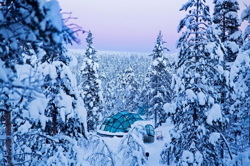 芬兰冰雪世界