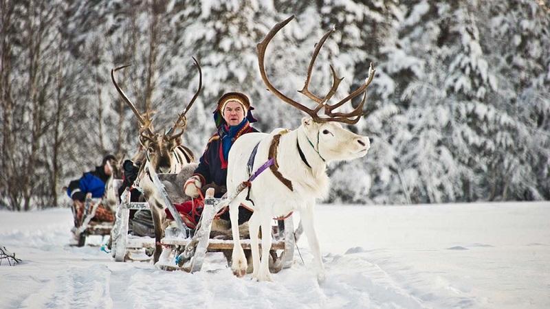 芬兰冬日风情