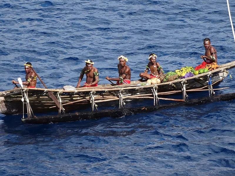 海上的土著人