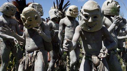 地球上最后的神秘之地--巴布亞新幾內亞(圖)