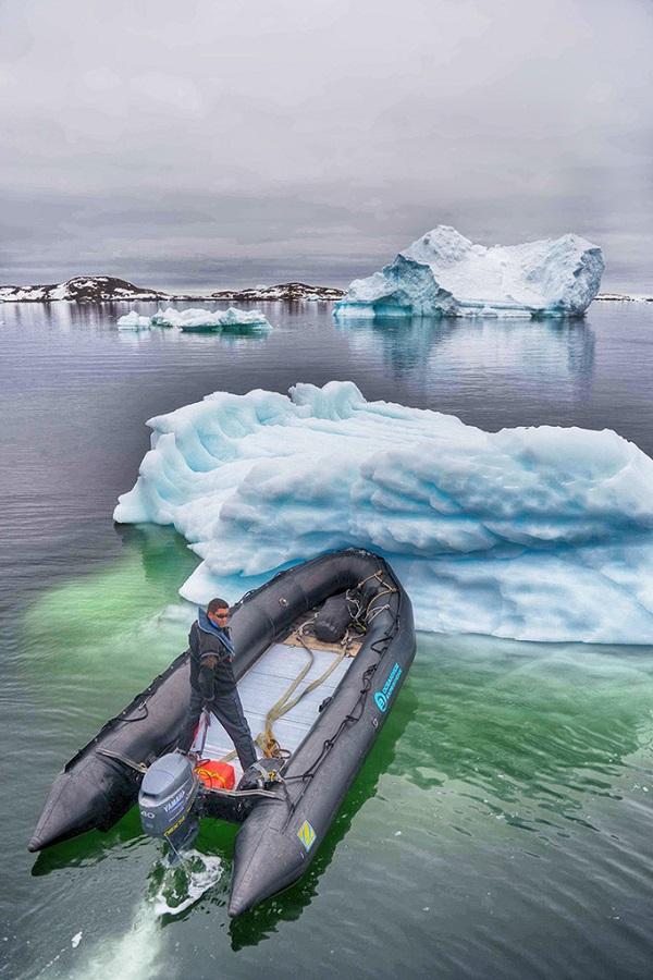 格陵兰海上风光