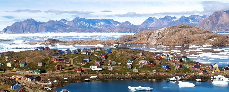 格陵兰木屋