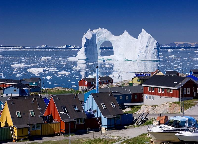 海上冰川美景