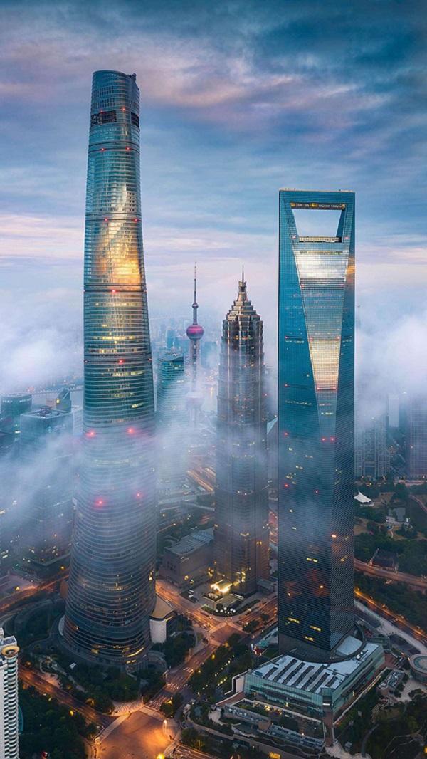 陆家嘴第一高楼-上海中心大厦