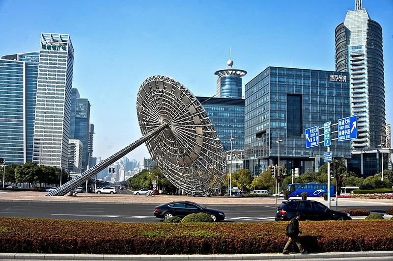 上海浦东世纪广场