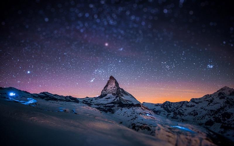 阿尔卑斯山的最高峰-美女峰