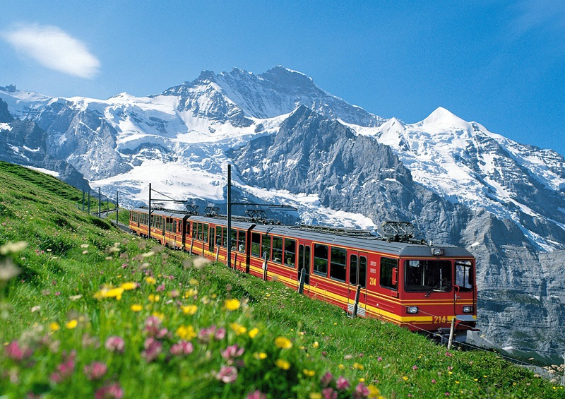 阿尔卑斯铁路旅游
