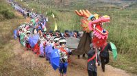 """贵州松桃:苗族同胞传统习俗""""请龙、接龙、安龙"""",感恩祈福"""