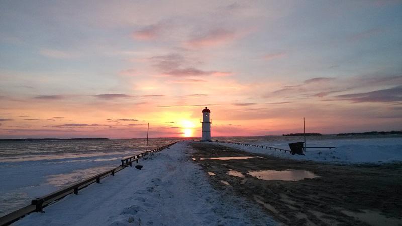 蒙特利尔海滨灯塔