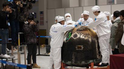 """嫦娥五号返回器""""开箱""""全过程"""