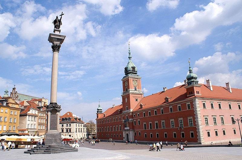 波兰国王西吉斯蒙德三世圆柱纪念碑