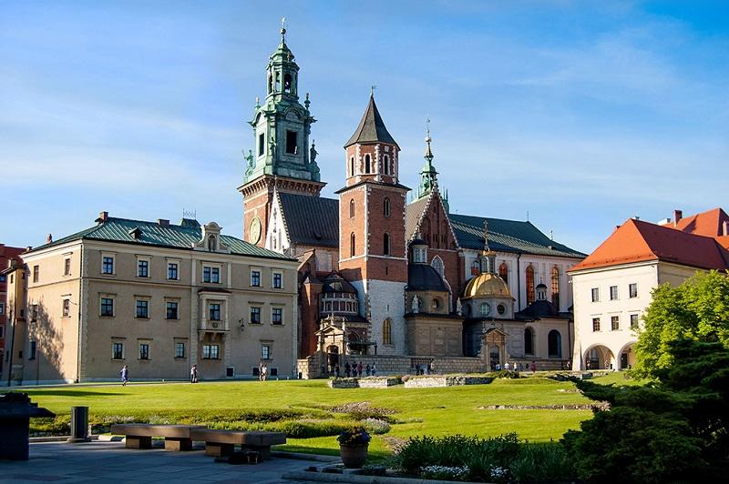 波兰旧都-克拉科夫瓦维尔城堡