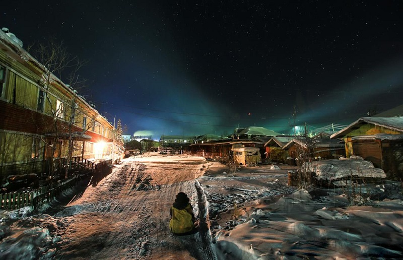 雅库茨克北极光