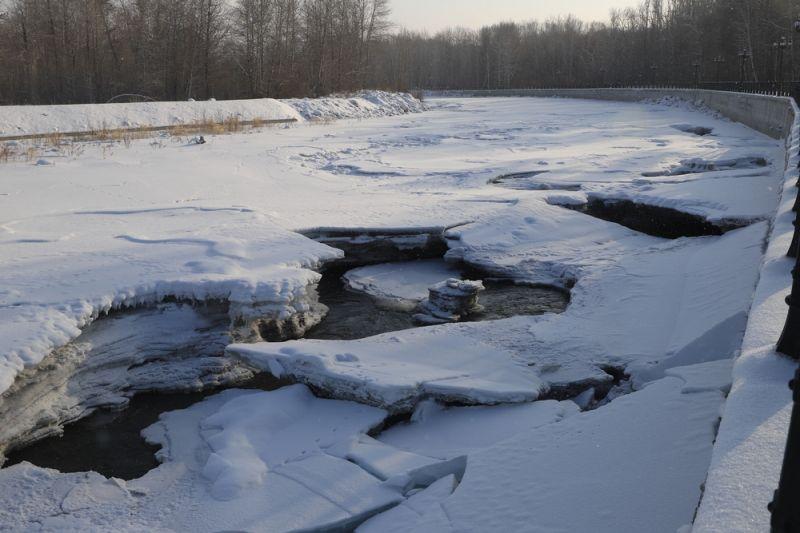 蜿蜒曲折的克兰河