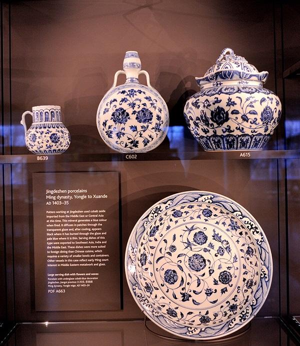 大英博物馆的中国青花瓷