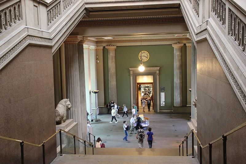 大英博物馆内