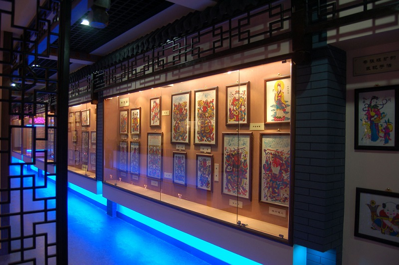 潍坊杨家埠民间艺术大观园-年画博物馆