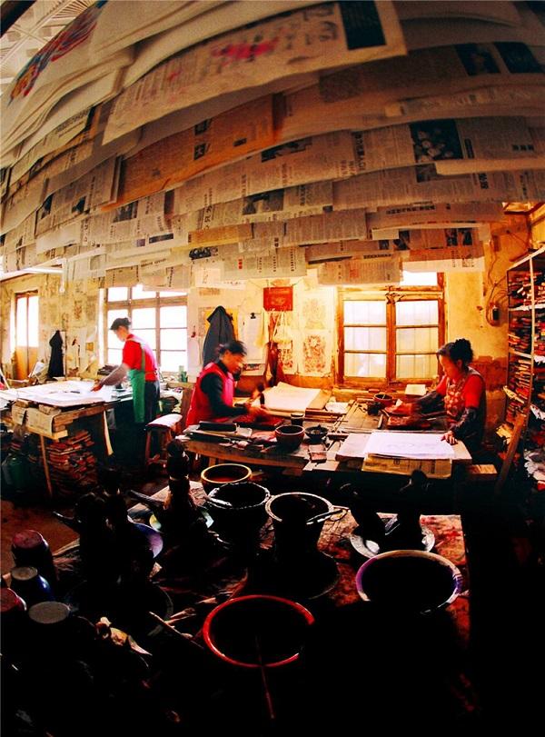 杨家埠年画制作室