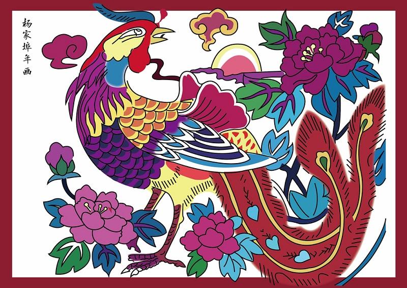 杨家埠年画作品